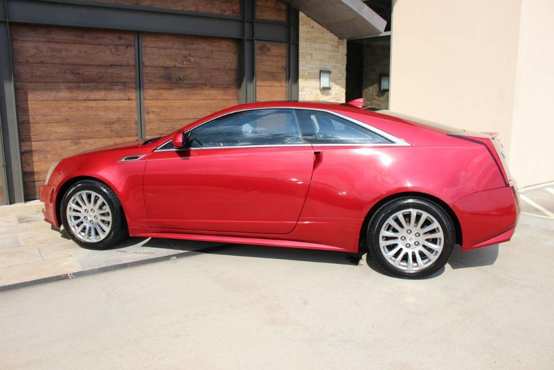 Pre-Owned 2012 Cadillac CTS Coupe Premium Rear Wheel Drive Coupe