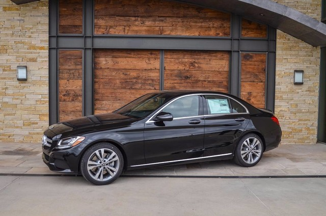 New 2018 mercedes benz c class c 300 sedan in sugar land for Mercedes benz financial payment address