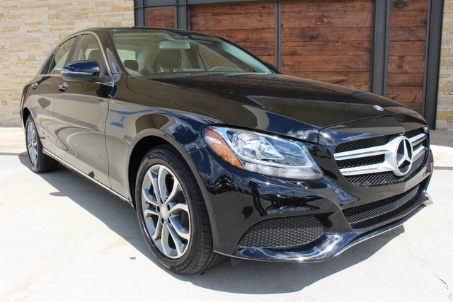 Pre owned 2016 mercedes benz c class c300 4matic sedan in for Mercedes benz sugarland