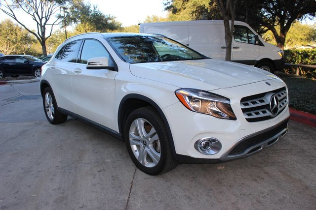 pre owned 2018 mercedes benz gla gla 250 suv in sugar land d13496