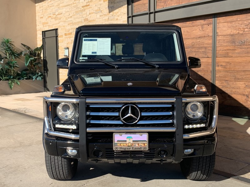 Certified Pre-Owned 2015 Mercedes-Benz G-Class G 550