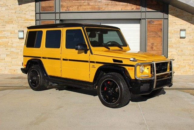Certified pre owned 2015 mercedes benz g class amg g 63 for Pre owned mercedes benz g class