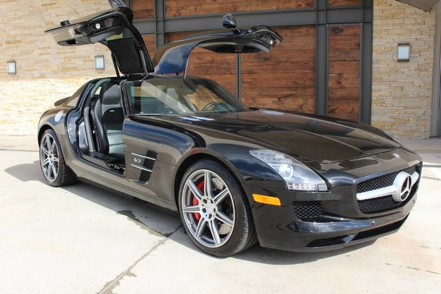 pre owned 2012 mercedes benz sls coupe in sugar land