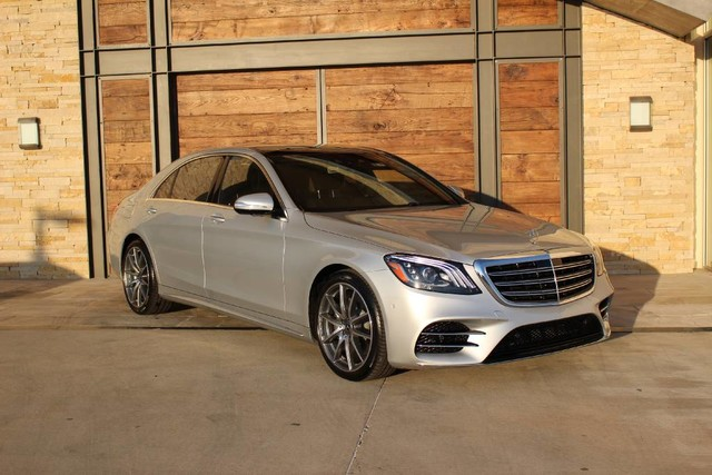 Pre owned 2018 mercedes benz s class s 560 sedan in sugar for Mercedes benz sugarland
