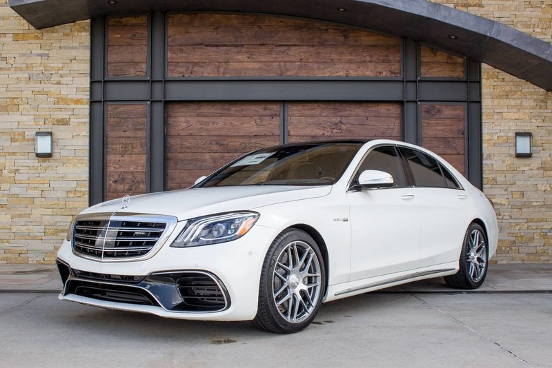 New Mercedes Benz >> New 2019 Mercedes Benz S Class Amg S 63 4matic With Navigation Awd