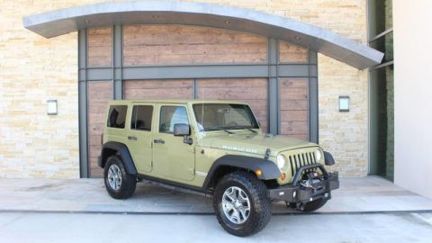Pre-Owned 2013 Jeep Wrangler Unlimited Rubicon Four Wheel Drive SUV