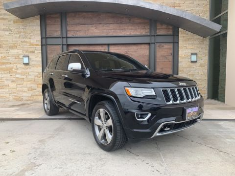 Pre-Owned 2015 Jeep Grand Cherokee Overland With Navigation