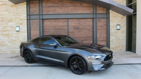 Pre-Owned 2018 Ford Mustang EcoBoost Rear Wheel Drive Coupe