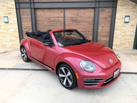 Pre-Owned 2017 Volkswagen Beetle Convertible #PinkBeetle Front Wheel Drive Convertible