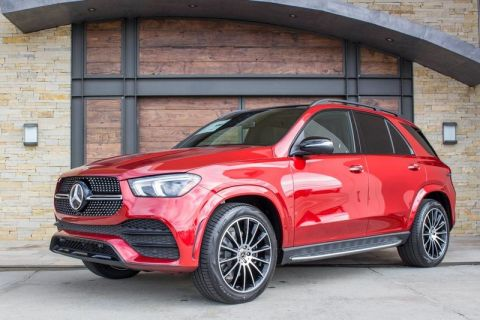 New 2020 Mercedes-Benz GLE 350 With Navigation