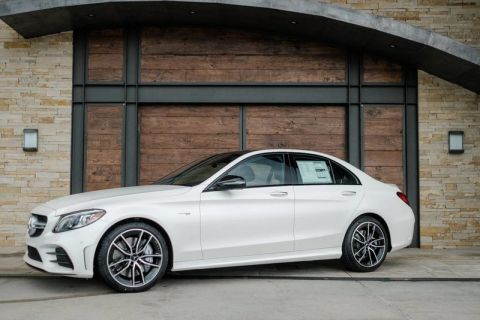 New 2019 Mercedes-Benz C-Class AMG® C 43 Sedan AWD 4MATIC®