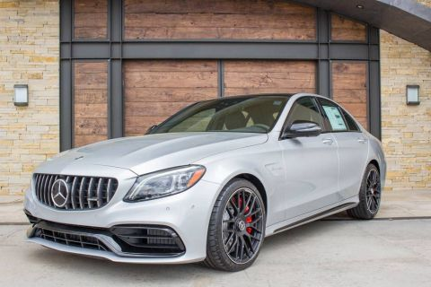 New 2020 Mercedes-Benz C-Class AMG® C 63 S Sedan Rear Wheel Drive SEDAN