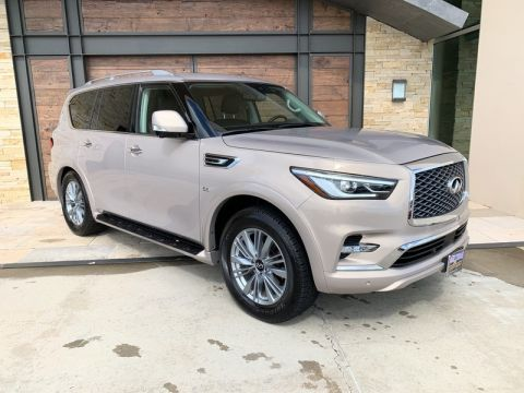 Pre-Owned 2019 INFINITI QX80 LUXE With Navigation