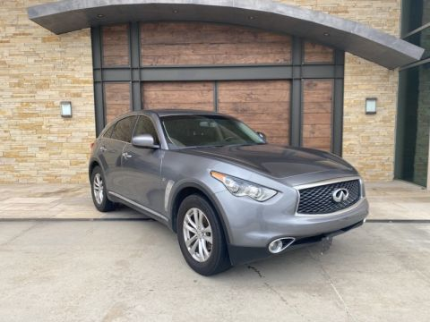 Pre-Owned 2017 INFINITI QX70 Rear Wheel Drive SUV