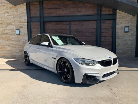 Pre-Owned 2017 BMW M3 With Navigation