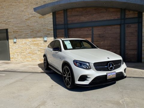 Certified Pre-Owned 2019 Mercedes-Benz AMG® GLC 43 4MATIC® Coupe AWD