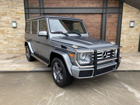 Certified Pre-Owned 2016 Mercedes-Benz G 550 AWD 4MATIC®