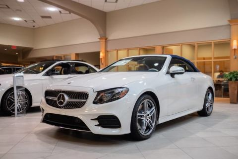 New 2019 Mercedes-Benz E 450 Sport Rear Wheel Drive CABRIOLET