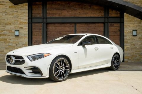 New 2019 Mercedes-Benz AMG® CLS 53 Coupe AWD 4MATIC®