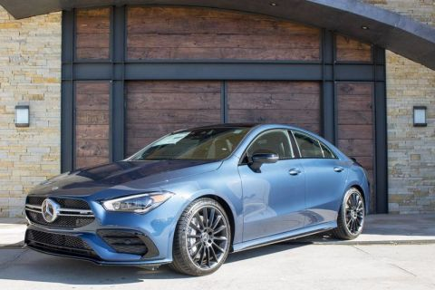 New 2020 Mercedes-Benz AMG® CLA 35 Coupe AWD 4MATIC®