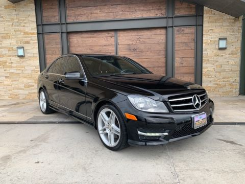 Pre-Owned 2014 Mercedes-Benz C 350 Rear Wheel Drive SEDAN