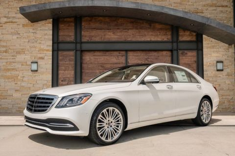 New 2019 Mercedes-Benz S 450 With Navigation