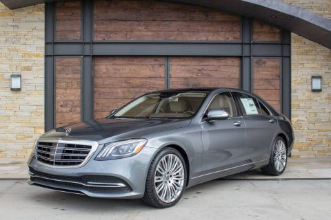 New 2020 Mercedes-Benz S 560 With Navigation