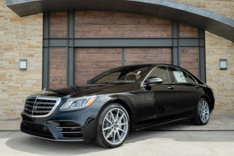 New 2019 Mercedes-Benz S 560 Rear Wheel Drive SEDAN