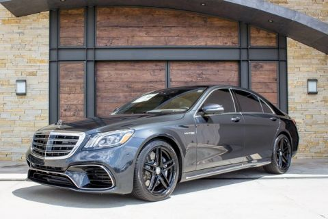 New 2019 Mercedes-Benz S-Class AMG® S 63 4MATIC® AWD