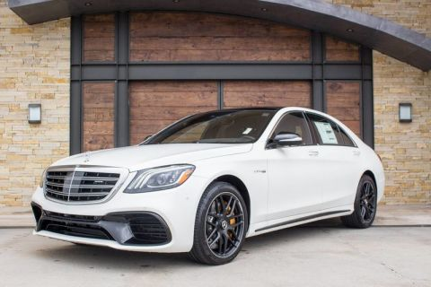 New 2020 Mercedes-Benz S-Class AMG® S 63 AWD 4MATIC®