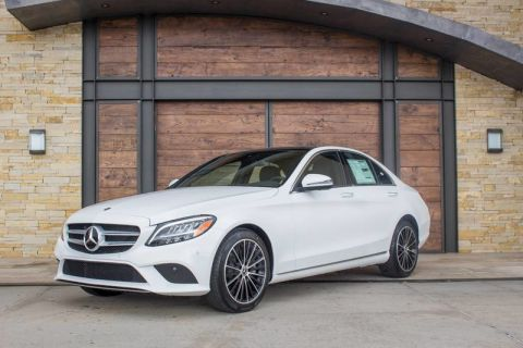 New 2020 Mercedes-Benz C 300 Rear Wheel Drive 4dr Car