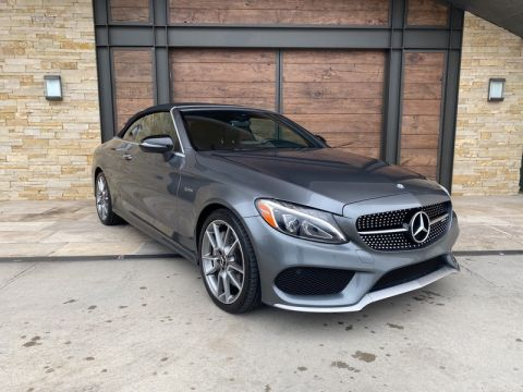 Certified Pre-Owned 2017 Mercedes-Benz C-Class AMG® C 43 Cabriolet AWD 4MATIC®
