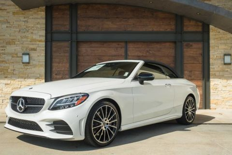 New 2019 Mercedes-Benz C 300 Sport Rear Wheel Drive CABRIOLET