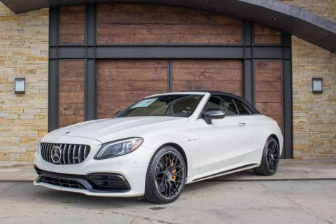 New 2020 Mercedes-Benz C-Class AMG® C 63 S Cabriolet Rear Wheel Drive CABRIOLET
