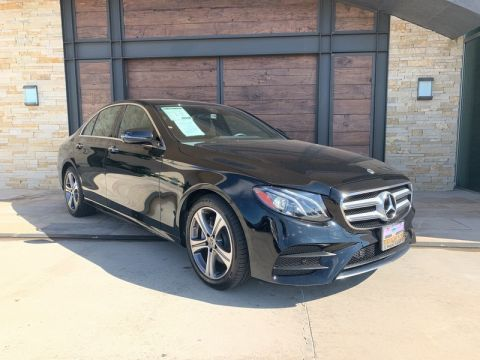 Certified Pre-Owned 2018 Mercedes-Benz E 300 Sport AWD 4MATIC®