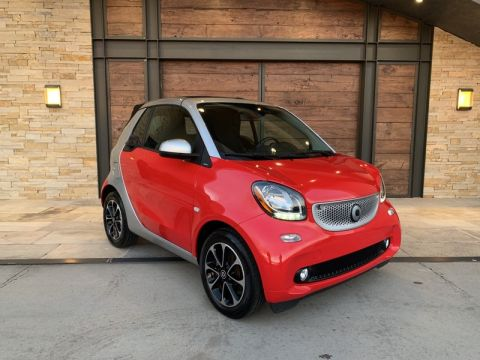 Pre-Owned 2017 smart SMT fortwo cabriolet Rear Wheel Drive CABRIOLET